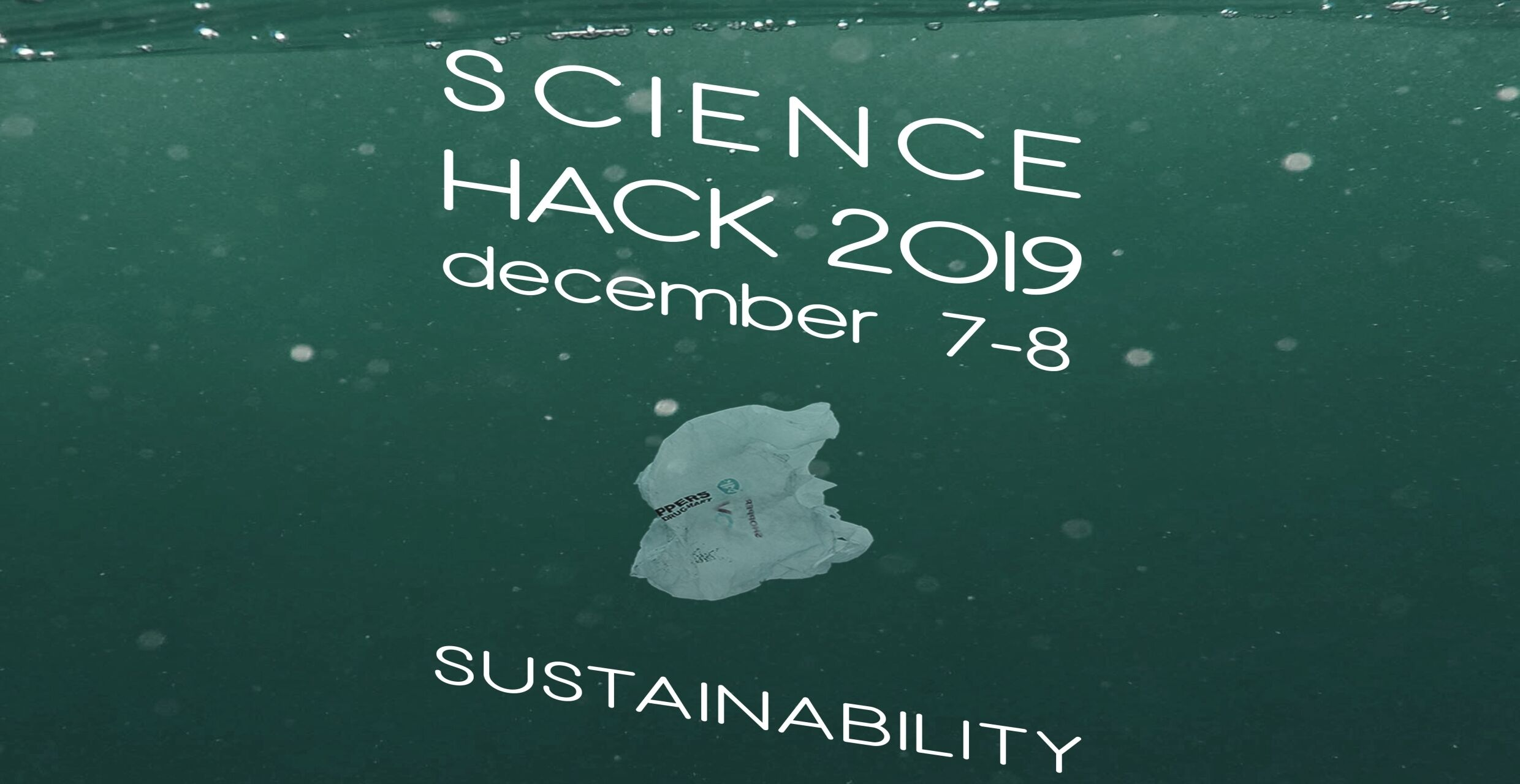 Science Hack 2019 about sustainability: December 7–8